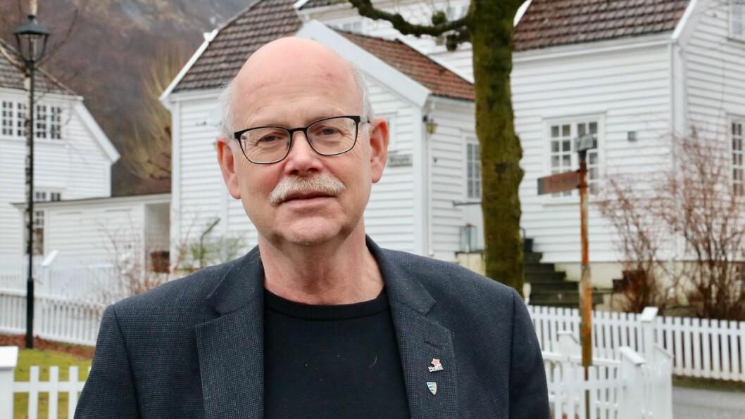 KRITISK: Einar Rysjedal i Raudt Høyanger er kritisk til forslaget til statsbudsjett som regjeringa har lagt fram.