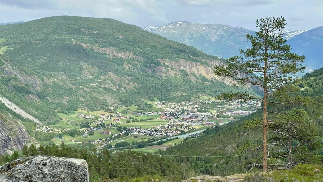 TINGLYSTE: Ein av dei dyraste eigedomane som skifta eigar i Indre Sogn siste veka ligg i Gaupne.