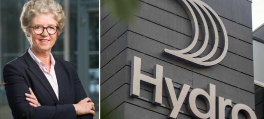 Hydro melder om ein halv milliard auke