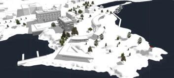 Spenstige planar for fjordtomt: hotell, restaurant, bustader, kai, rådhus