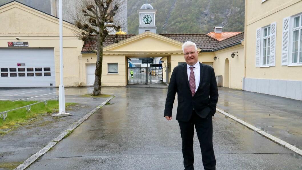 NÆRINGSLOGGEN: Lars Kjetil Skeie er ny dagleg leiar i Høyanger kjemiske industriforeining.