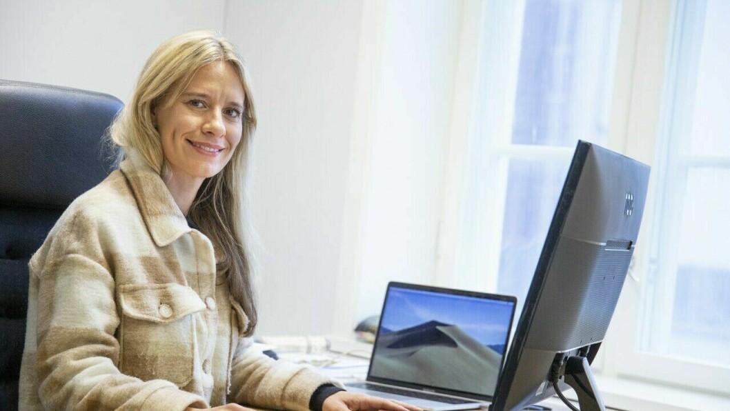 NØGD: Næringskonsulent Birgitta Hagen Kyrkjebø i HNU er godt nøgd med prosjekta det har blitt søkt om støtte til.