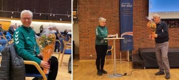 Idrett har vore hjartet nært for Ruth heile livet. Tildelt gjev pris for innsatsen sin.