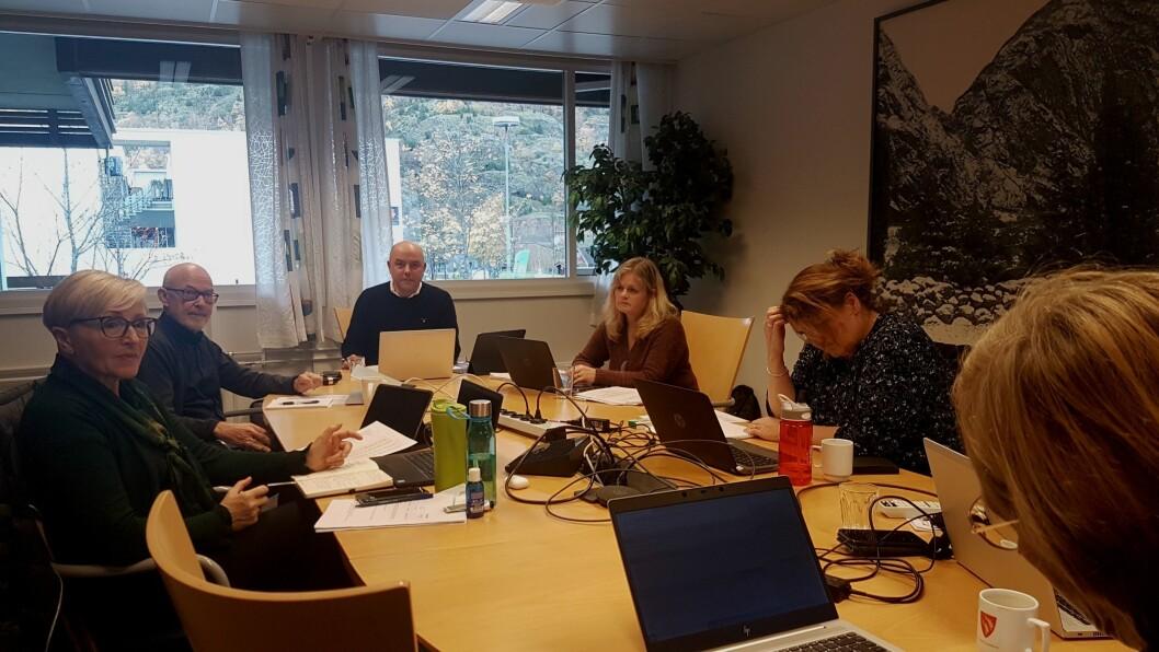 VIL AVVIKLE: Formannskapet i Lærdal røysta torsdag gjennom rådmannen si tilråding om å avvikle Lærdal Næringsutvikling AS.