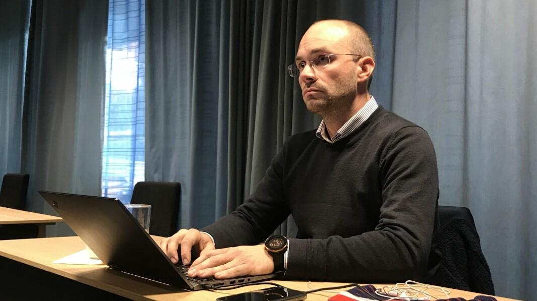 VEDTAK: – Eit kvart vedtak er eit godt vedtak seier Tor-Einar Skinlo etter dagens kommunestyremøte.