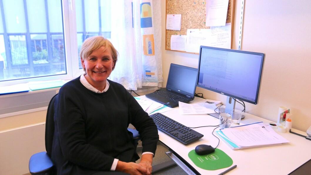 SER TIL FACEBOOK: Gunn Lerøy er rådmann i Lærdal.