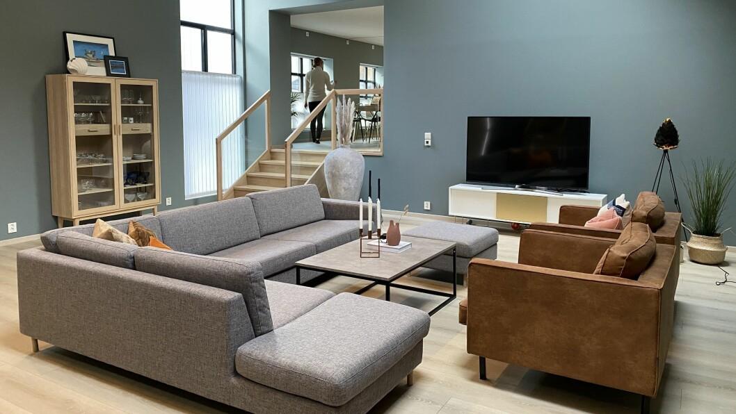 STILREINT: Meklar Hege Kulhuset ønskjer no å satsa óg som interiørdesignar. Det første store prosjektet vart huset ho kjøpte med sambuaren i 2014.