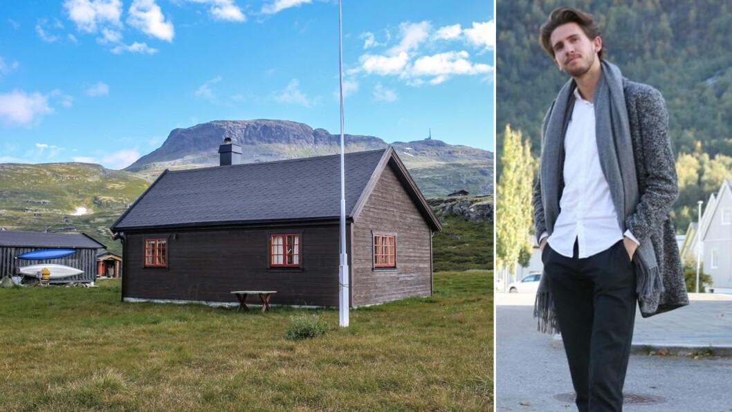 HYTTE SELD: Sletterust 95 i Årdal kommune.
