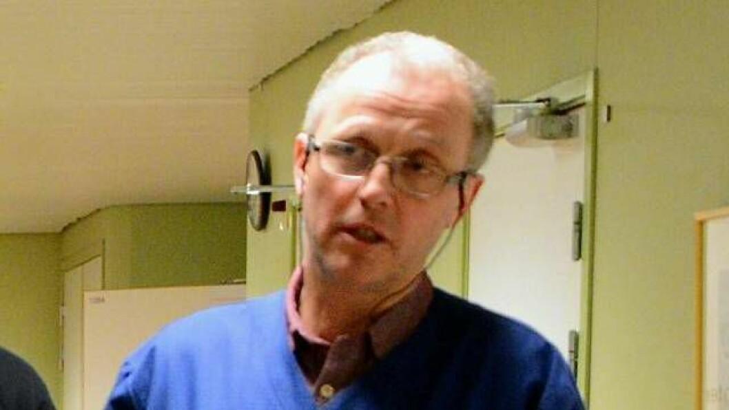 Frode Myklebust, kommunelege og legevaktsjef ved Lærdal sjukehus. Arkivfoto