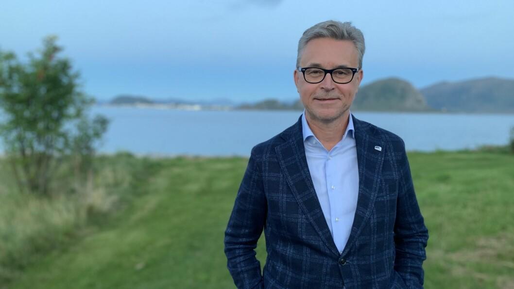 HAVBRUKSNÆRINGA: Fiskeri- og sjømatminister Odd Emil Ingebrigtsen