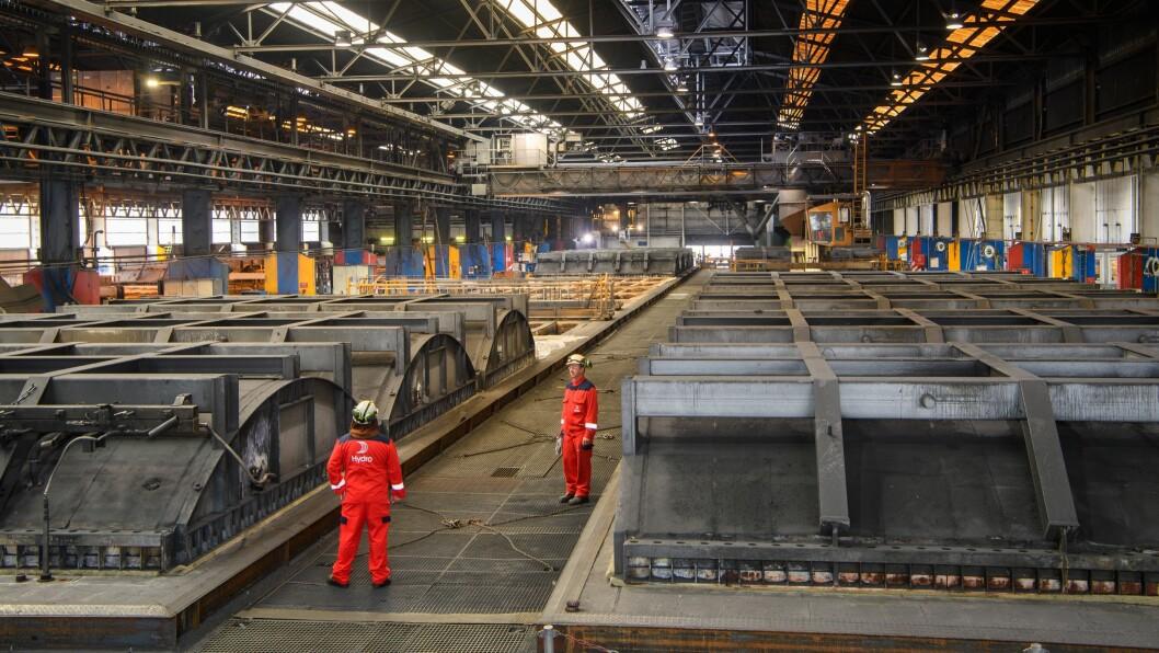 KONKURRANSE: Fri tilgang til den europeiske marknaden er avgjerande for dei norske metallverka, skriv forfattarane av innlegget.