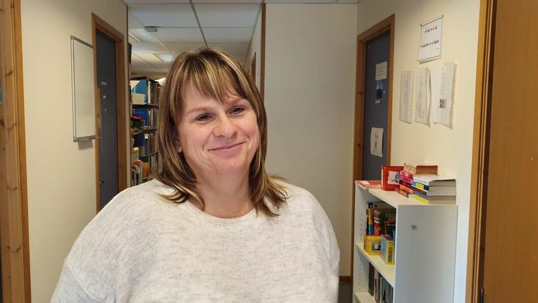 KLAR: Veslemøy Dingen tek til  som einingsleiar ved Eivindvik barnehage og skule frå nyttår av.