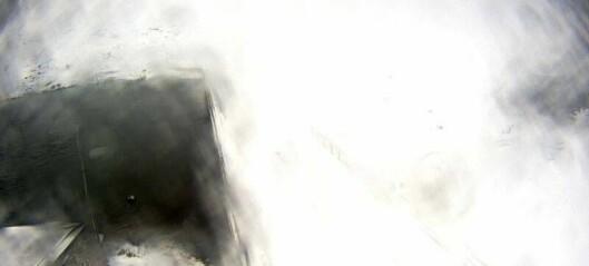 Slik er sikta no: Stengjer fjellovergongen