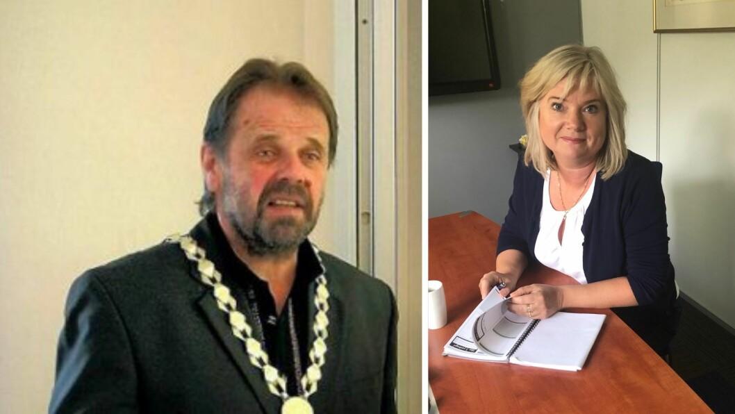 DRAR I BREMSEN: Hallvard Oppedal og Irene Søreide