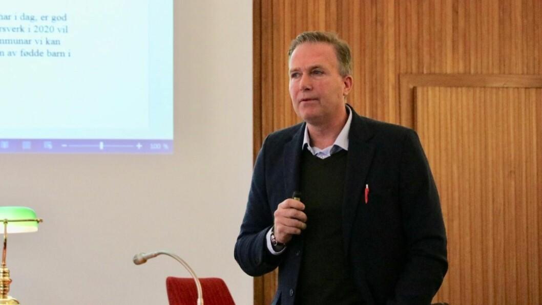 ENDRINGAR: Kommunalsjef for oppvekst, Stig Engen, meiner det må vurderast å gjere strukturelle endringar i sektoren i åra som kjem.