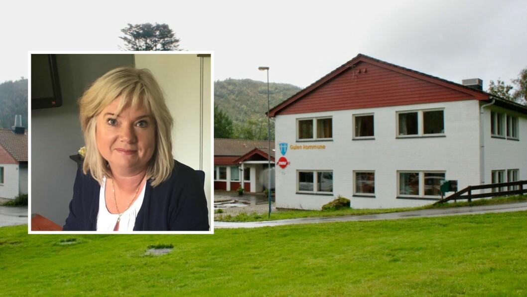 DRIFT: Kommunedirektør Irene Søreide ønskjer at Gulen har ei nøktern drift framover for å sikre at drifta samsvarer med inntektene til kommunen.