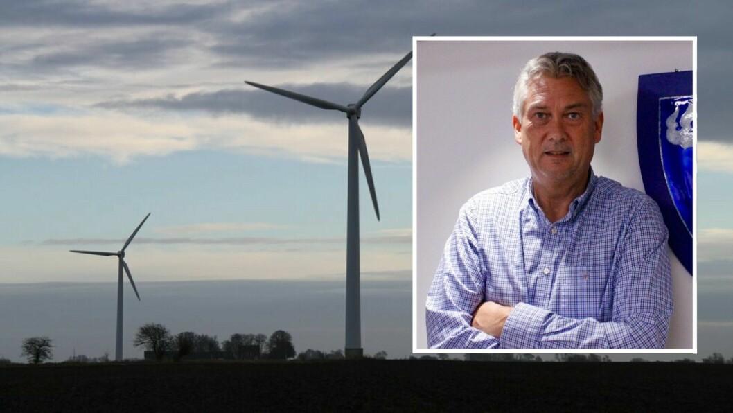 ENDRINGAR: Ordførar i Høyanger, Petter Sortland (Ap), er nøgd med at søknader om vindkraft på land no skal handsamast etter plan- og bygningslova i staden for energilova.