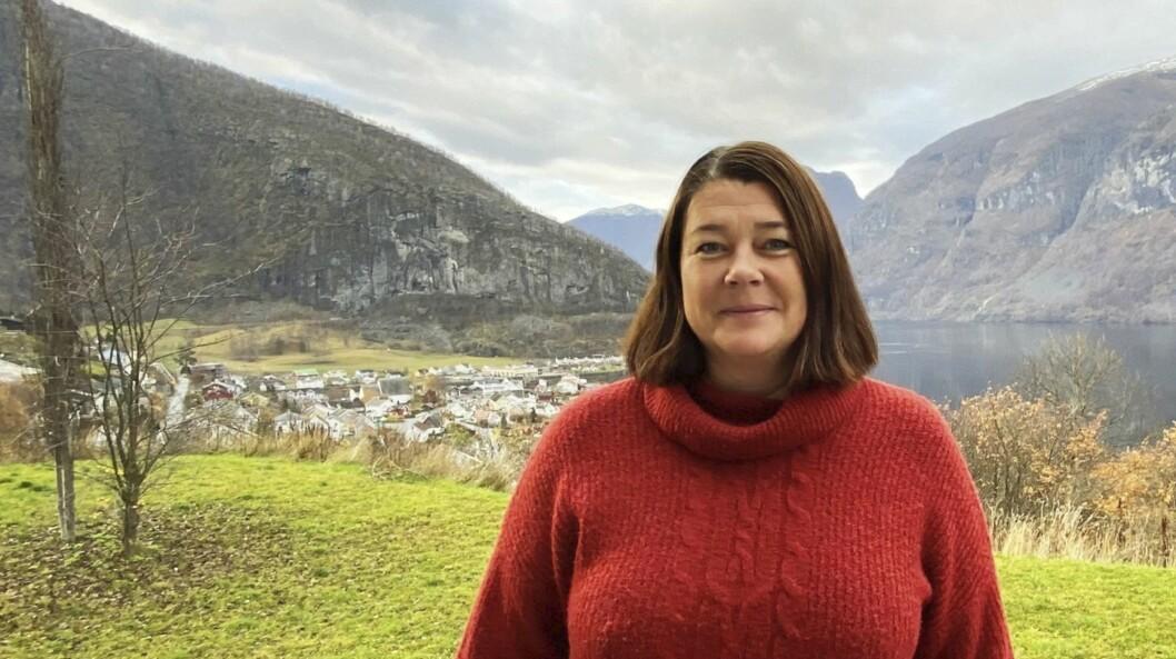 NY JOBB: Mette Bakketun er blitt dagleg leiar for Sognefjorden Næringshage på fast basis.