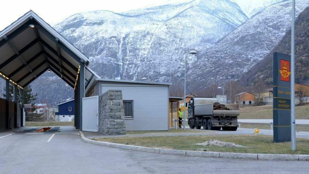 HÅBAKKEN: I alt var 135 bilar inne på kontrollplassen på Håbakken.