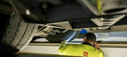 Kontroll i Sogndal: Bruksforbod og pålegg om å fjerne folie fra sideruter