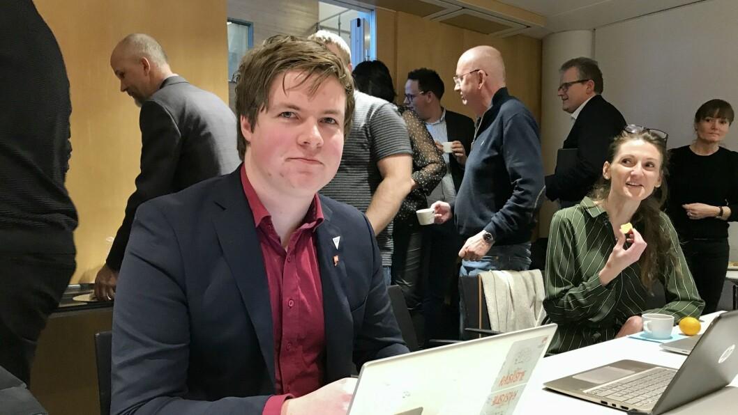 SV: Hans Christian Knudsen er nominert på andre plass for SV til stortingsvalet neste år.