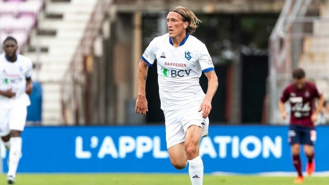 ETTERTRAKTA: Per Egil Flo har gjort sakene sine godt i den sveitsiske toppdivisjonen for FC Lausanne Sport. Ei avklaring rundt overgangssagaen er venta dei kommande dagane.