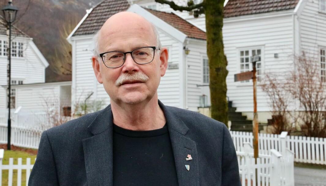 AUKE: Einar Rysjedal (R) fortel at Raudt ikkje kjem til å stoppa med å jobba på etter auken partiet fekk etter stortingsvalet.