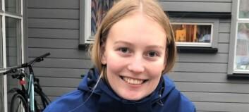 Tina (20) stortrivst som lærling: – Får vere med på mykje eg ikkje hadde trudd eg fekk gjere