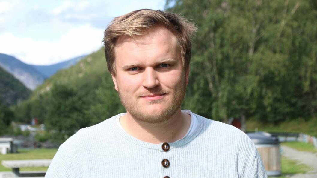 VIKTIG: Aleksander Øren Heen ser på arbeide med arealutbygging i kommunen som ein av dei viktigaste sakene kommunen no har å arbeide med.