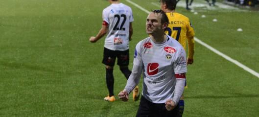 Scora sitt første for sesongen – men Sogndal tapte på overtid