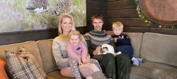 Hytta til Benedicte Elisabeth og Jon Olav har gått gjennom ei totalforandring: – Det er kun eit ord; eventyrleg