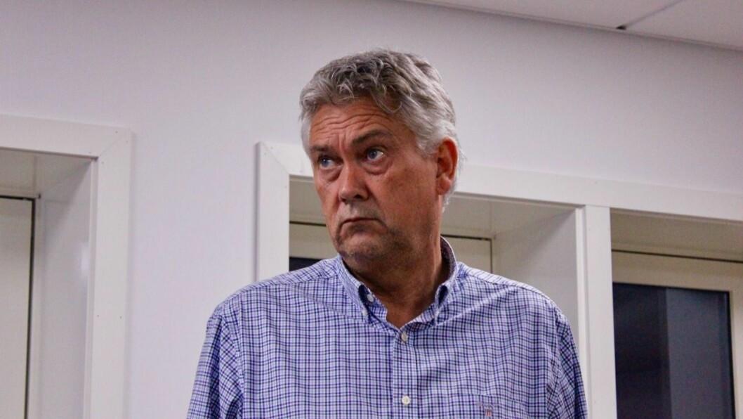 GAPESTOKK: Ordførar Petter Sortland (Ap) vil ikke ha ein offentleg gapestokk.
