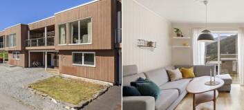 Dette rekkehuset i Sogndal vart seld for 4 millionar