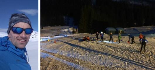 Snøsikkert anlegg har hatt skiløyper i ei veke allereie: – Det har vore heilt supert