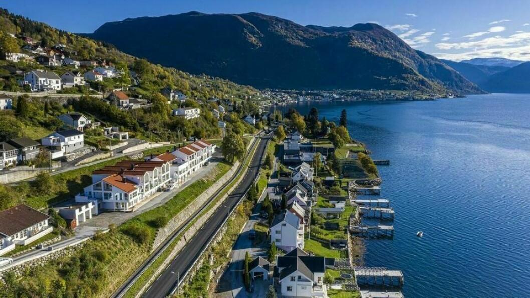 DESIGN: Bygget er designa av arkitekten Anders Vikøren.