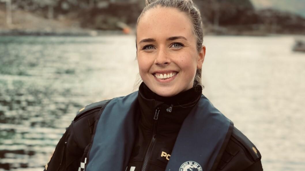 FANGAR DYREMISHANDLARAR: Jobben til Elise Guddal Flo er å etterforske og forebygge kriminalitet mot dyr.