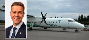 – Me sikrar ein flygedyktig luftfart i heile landet