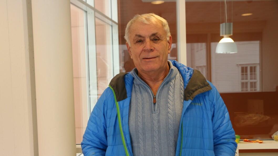 PÅDRIVAR: Odd Øvregard vert beskriven som ein som aktivt arbeider for dei eldre i Årdalssamfunnet.