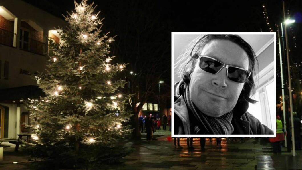MEININGAR: Svein Erik Kjærvik har skrive ei julehelsing til vener og slekt i Sogn.