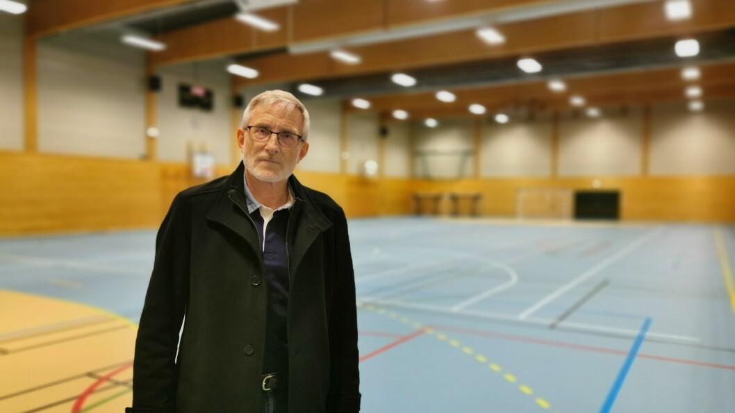 STORSKALA: Kommuneoverlege Knut Cotta Schønberg har planane klare for kor han skal utføre massevaksinasjonen, når nok doser er sendt av gårde.