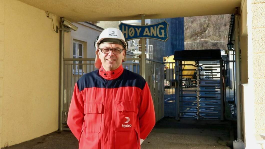 GRUNN TIL Å SMILE: Både verket i Hydro Høyanger og Årdal har grunn til å smile etter eit godt kvartal.