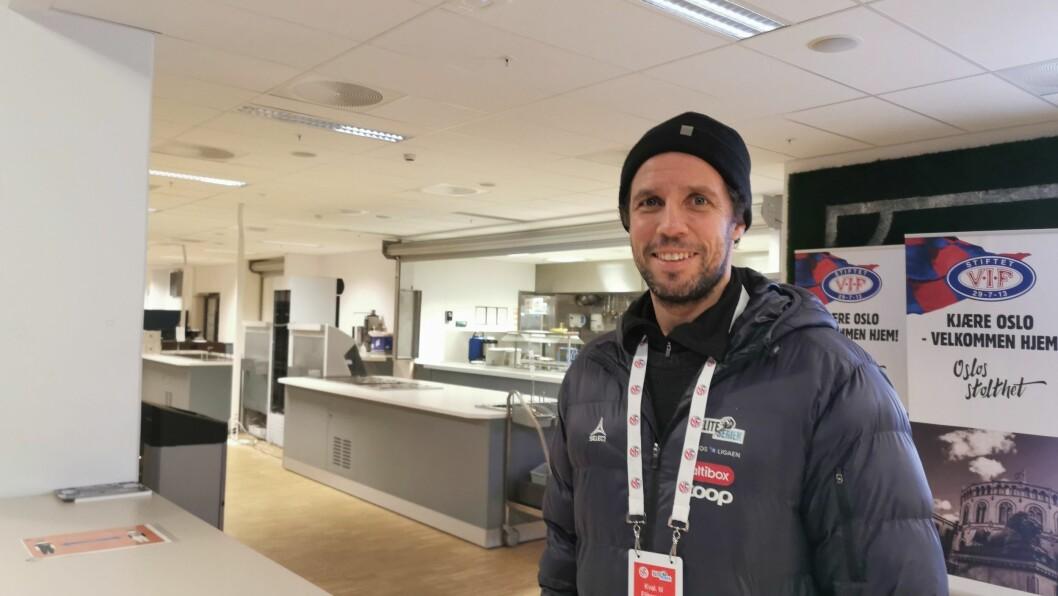 50/50: Freddy Dos Santos meiner det er heilt ope kven som stikk av med sigeren under kveldens kvalik-kamp mellom Sogndal og Mjøndalen.