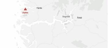 Front mot front-ulykke i Sunnfjord: Fem personar involvert