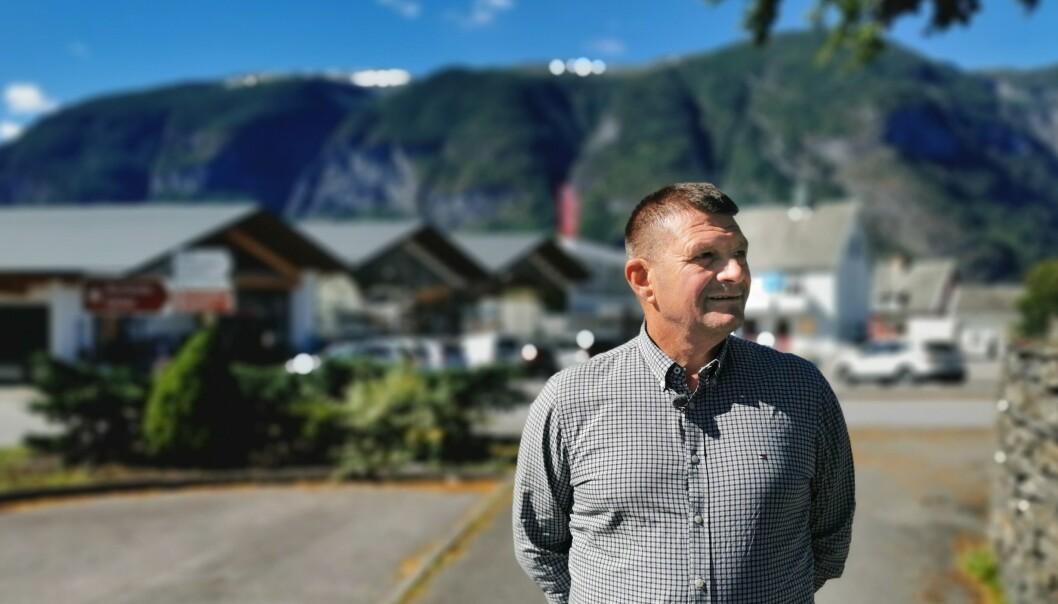 AURLAND: Trygve Skjerdal er ordførar i ein kommune som tener godt på reiselivet.