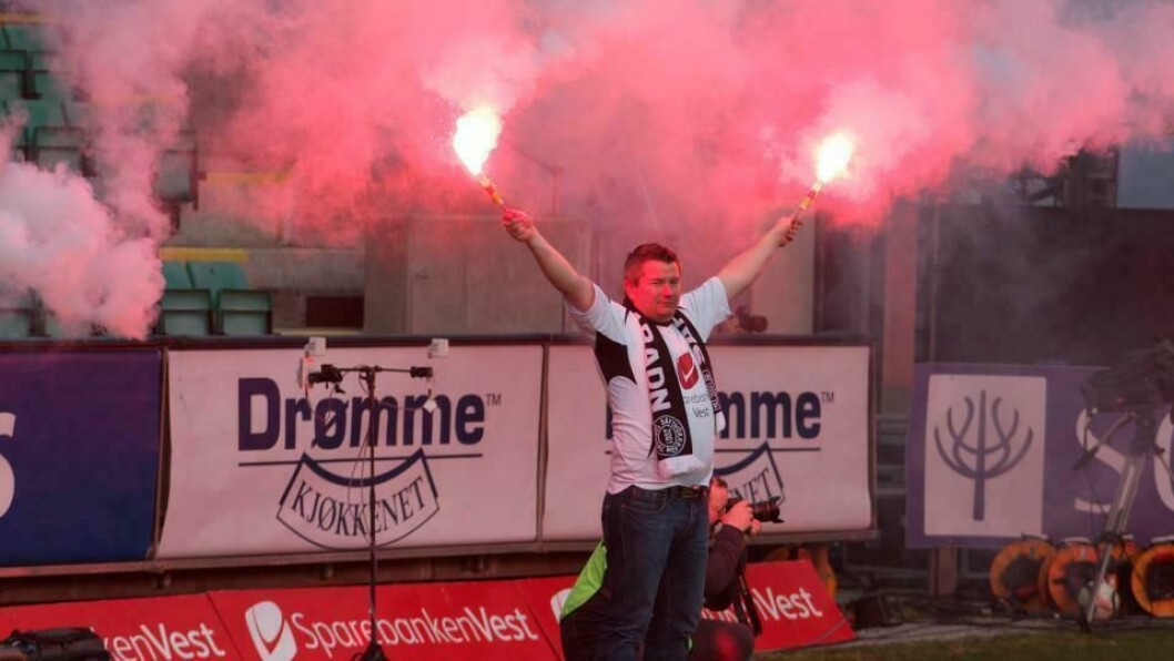 HEIAR: Vidar Vadseth har lenge vore ein ihuga supportar av Sogndal Fotball.