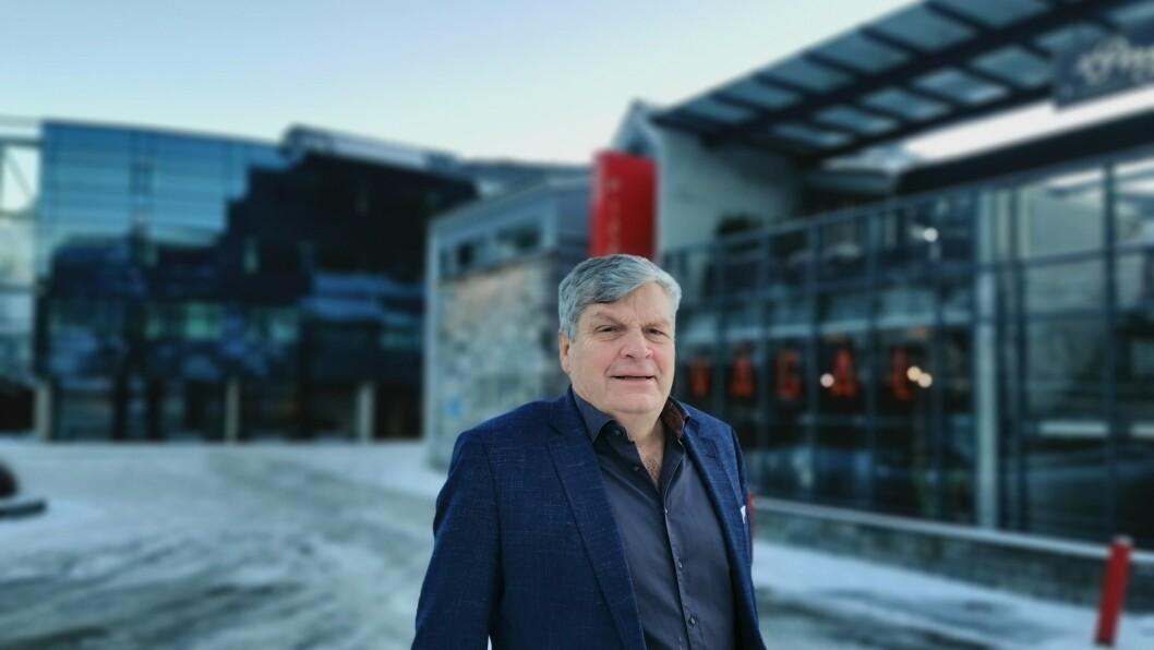 UTFORDRINGAR: Starten på 2021 vart ikkje heilt slik hotellsjef Jørgen Christian Lindstrøm for Quality Hotel Sogndal hadde håpa på.