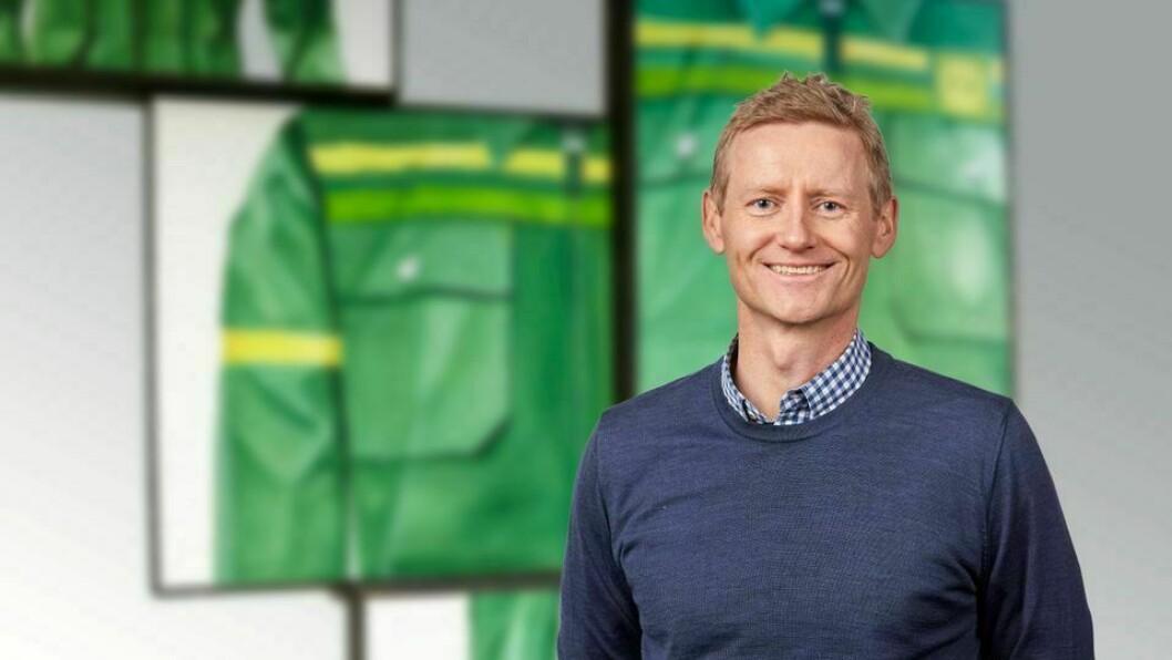 Svenn Ivar Fure trer inn i rolla 1. juni 2020.