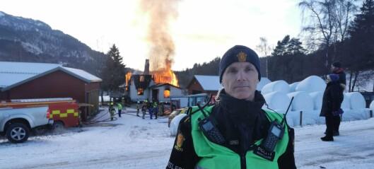 Familie har mista heimen sin: – Huset blir det lite igjen av