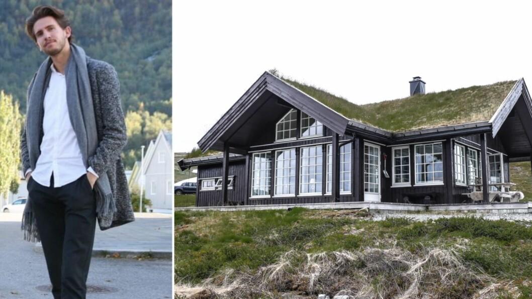 SLETTERUST: Denne hytta på Sletterust vart seld for like over tre millionar. Det er høgaste salspris av alle hyttene som vart seld i området i 2020.
