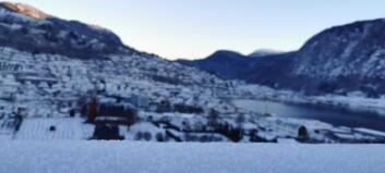 Torsdag låg framleis vinterkulda over Sogn. I helga må du by deg på eit vêrskifte: – Heilt klart ruskevêr